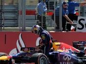 Vettel tuvo problemas caja cambios