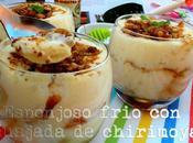 """Esponjoso frío cuajada chirimoya """"Costa Tropical"""" #gastroalmunecar2013"""
