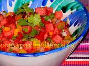 Ensalada pico gallo