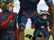 Podrían estar preparando serie animada Guardianes Galaxia