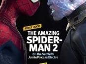 Electro Spidey portada revista sobre Amazing Spider-Man