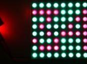 Colorduino controlador matriz Mostrar números
