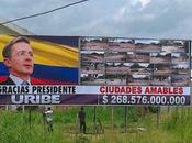 vallas Uribe reciben Santos!!