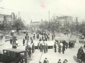 Barcelona 1924 ,obras gran metro ramblas