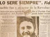 doloroso pero cierto .después esta declaración siguieron gritando ¡Viva Fidel!