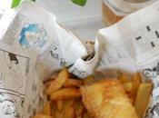 Fish chips pescado patatas