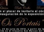 """Portais"""" exposición Paulo Coelho, Christina Oiticica Romero Britto Santiago Compostela"""