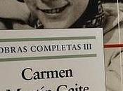 """Diez años Carmen Martín Gaite. Libro nuevo entrevista fondo"""""""