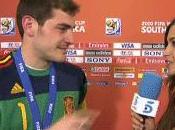 beso Iker Casillas sara Carbonero después final Mundial
