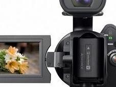 Sony NEX-VG10, videocámara objetivos intercambiables