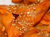 Empanadillas sobrasada miel
