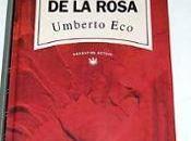 libro: nombre rosa
