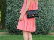 Coral Dress Chanel 2.55