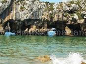 Playa Cuevas Mar, capricho pétreo Cantábrico