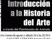 Jornadas Introducción Historia Arte: Patrimonio Arévalo.