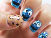 Uñas decoradas Monstruo Galletas Triky nail