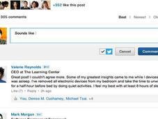 LinkedIn ahora permite ofrecer Likes responder comentarios artículos influenciadores