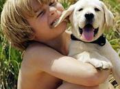 convivencia rntre niños perros