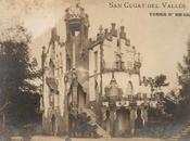 Barcelona ...sant cugat, casa lluch 1906, arquitecto eduard barcells buigas...9-07-2013...