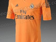 Nueva camiseta naranja Real Madrid; temporada 2013-2014