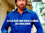 Jesús puede vencer cáncer, dice Chuck Norris