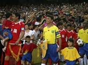 Bebeto, Careca otras leyendas fútbol brasileño reencuentran Pekín