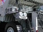 camión carga minero Liebherr 282b
