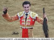Aldabonazo andres luis dorado: cuatro orejas rabo tarde triunfal chechu logró mismo número trofeos