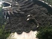 Muro Cinco Dragones Jardín Yuyuan. Shanghai