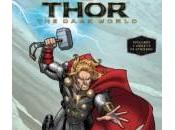 Carátulas varios libros infantiles Thor: Mundo Oscuro