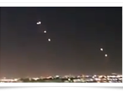 Extraterrestres exhiben flota problemas sobre cielo angeles.