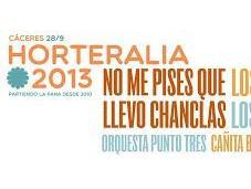 Horteralia 2013: pises llevo chanclas, Gandules, Ganglios, Cañita Brava...