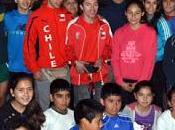 Atletas iquique compartieron cristiian valenzuela