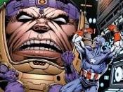 Portada alternativa Starlin para Captain America: Livin Legend