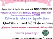 """Buenos propósitos """"rentreé"""""""