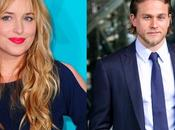 Dakota Johnson Charlie Hunnam serán Anastasia Christian Sombras Grey