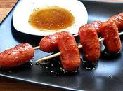 Brochetas Frankfurts Vodka