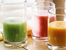 Green Smothies pre-otoñales ricos vitaminas, minerales antioxidantes