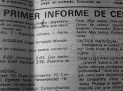INFORME SOBRE MARADONA (1978)