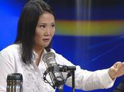 Keiko fujimori lidera intención voto presidencial