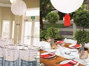 Ideas para bodas: cómo decorar globos