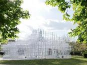 Serpentine Gallery 2013, diseño exterior
