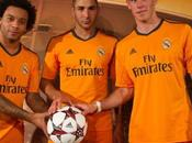 Nuevo uniforme naranja Real Madrid presentado