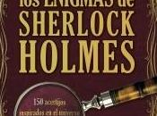 libro enigmas Sherlock Holmes