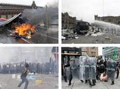 maestros pacíficos fueron desalojados violentamente Zócalo México
