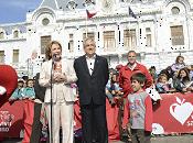 Presidente asiste visita gira nacional elige vivir sano