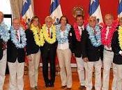 Presidente piñera recibió delegados caribe guatemala para santiago 2019