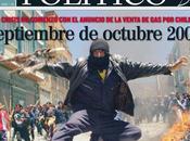 Octubre 2003: allá Chile