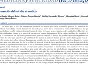 Prevención Suicidio Médicos Mingote col.