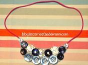 DIY: collar botones